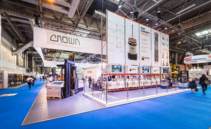 Crown stand at IMHX 2016