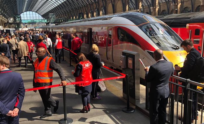 LNER Azuma Train Launch