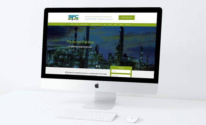 Website Design for SFC Europe